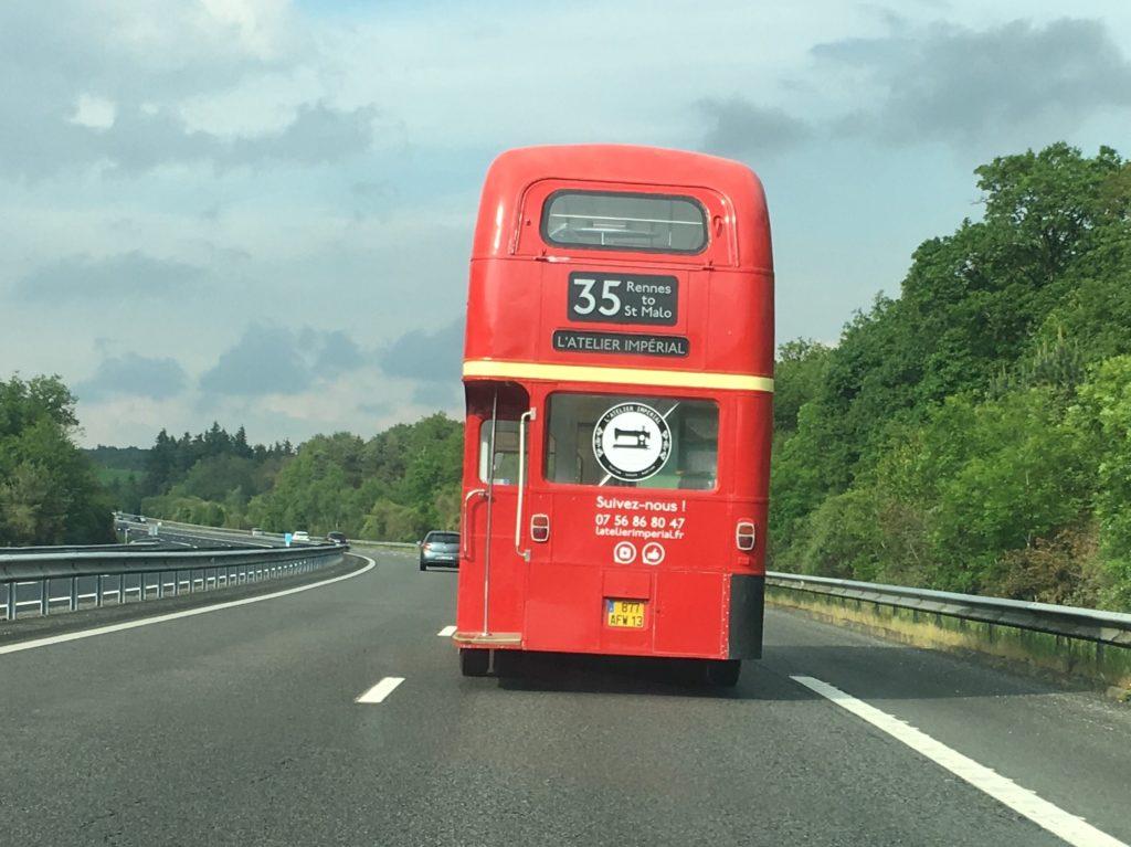 le bus en route